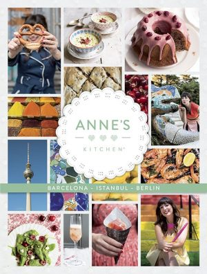 Cover Anne's Kitchen Barcelona Istanbul Berlin Englisch
