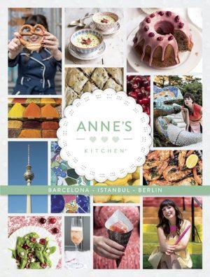 Cover Anne's Kitchen Barcelona Istanbul Berlin Englisch
