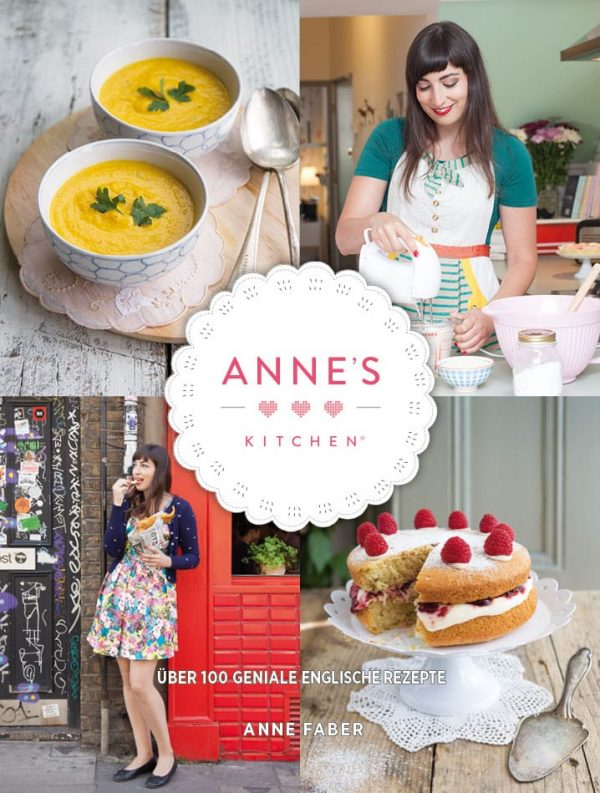Cover Anne's Kitchen Englische Rezepte