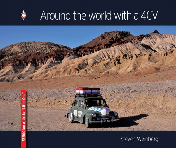 Cover Around the world with a 4CV
