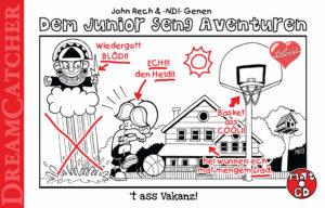 Cover Dem Junior seng Aventuren 't ass Vakanz!