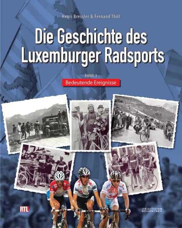 Cover Die Geschichte des Luxemburger Radsports 1