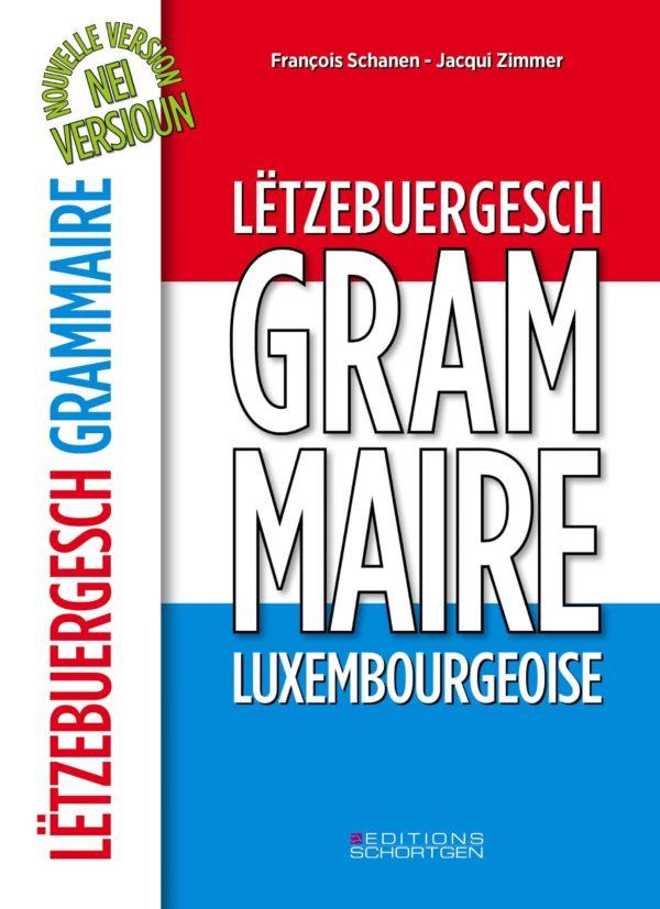 Cover Lëtzebuergesch Grammaire