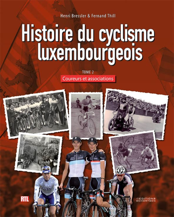 Cover Histoire du cyclisme luxembourgeois 2