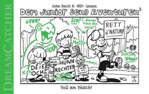 Cover Dem Junior seng Aventuren Voll am Bësch!