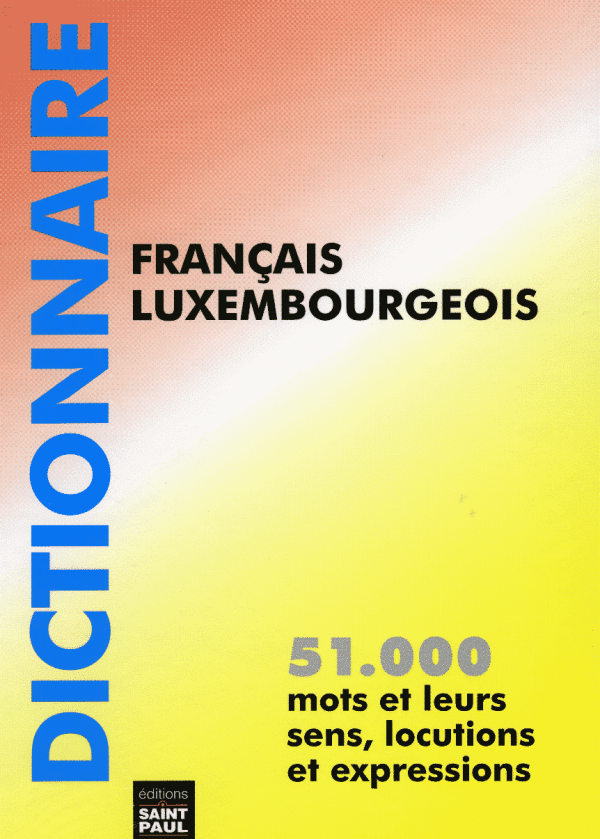 51000 Dictionnaire FR LUX